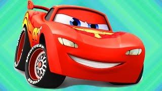 Тачки-Гонки Молния Маккуин   игра   про машинки. Lightning McQueen видео  !