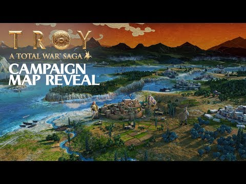 A Total War Saga: TROY - Campaign Map Reveal