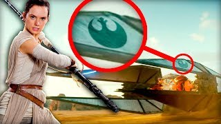 Everything You Missed in Star Wars Rise of Skywalker Movie Trailer