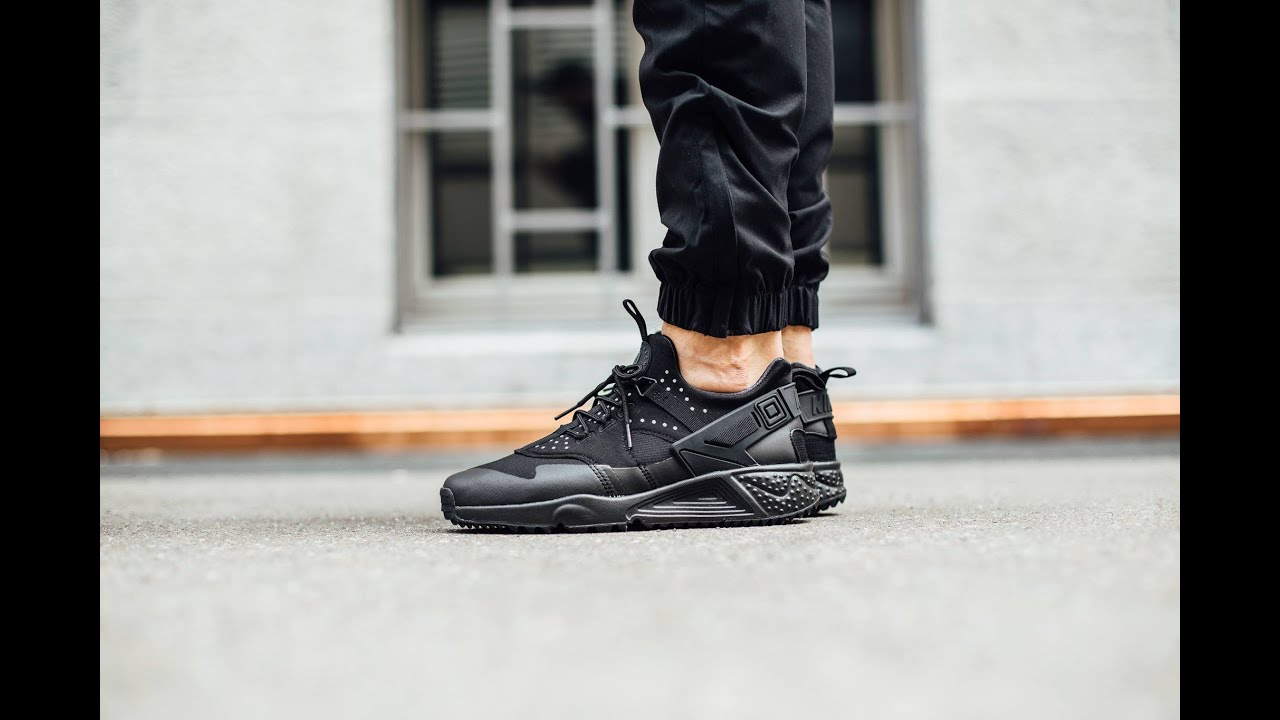 Nike Air Huarache On Feet