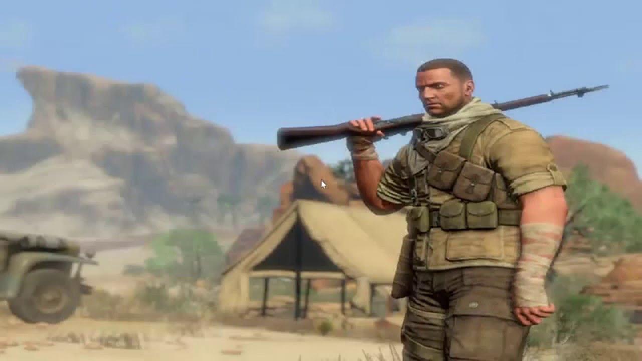 Download change language RUS to EN Sniper Elite III