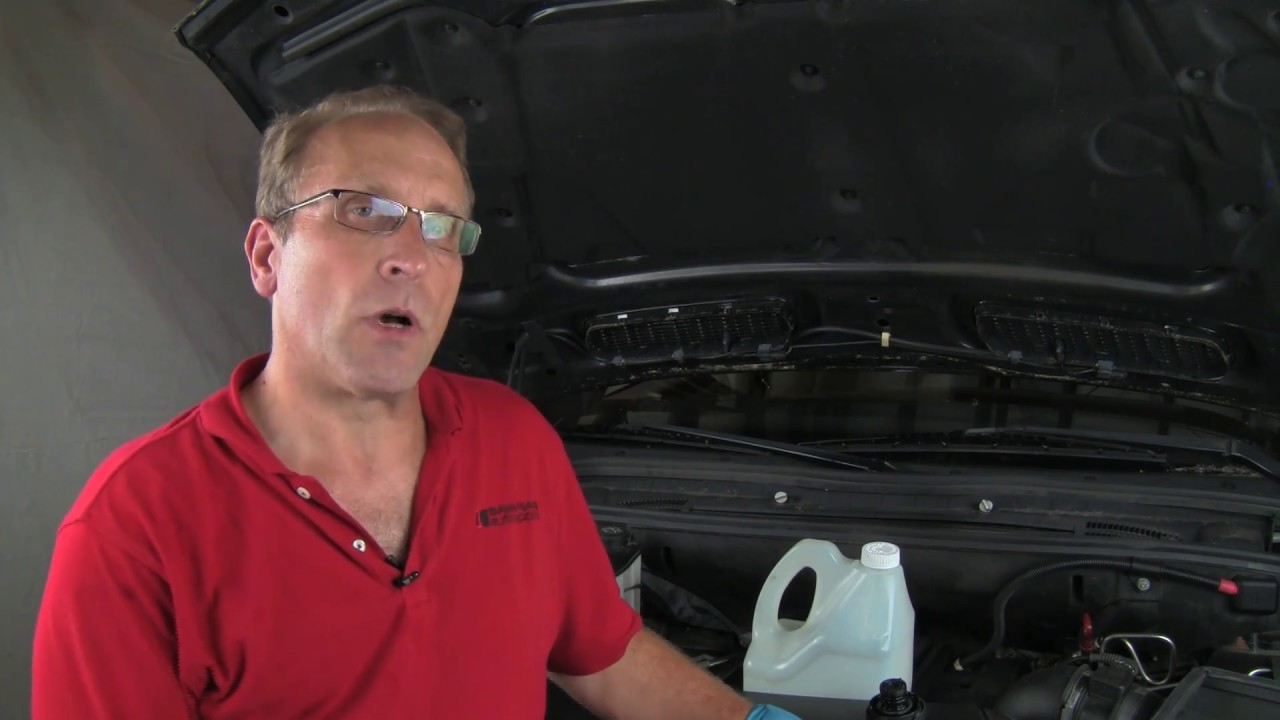 flushing replacing engine coolant in a bmw mini [ 1280 x 720 Pixel ]