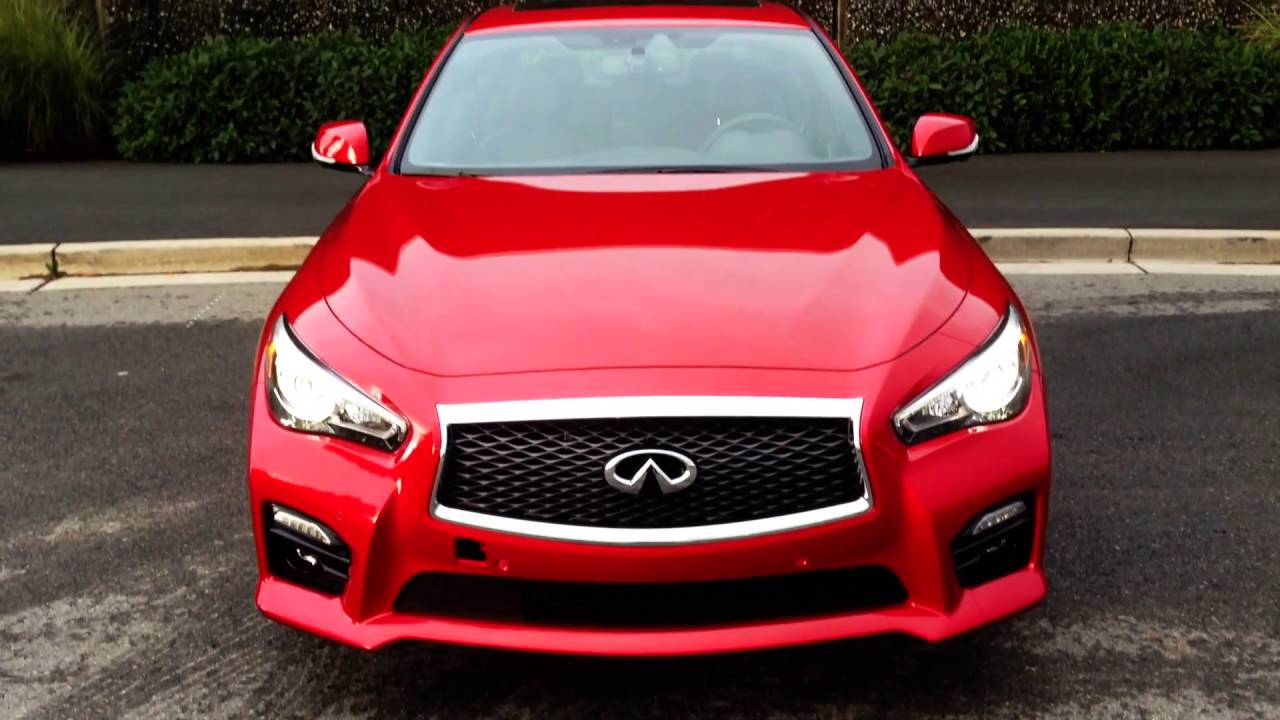 2017 infiniti q50 red sport 400 awd w driver 39 s assit tech and design youtube. Black Bedroom Furniture Sets. Home Design Ideas
