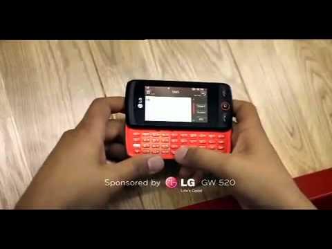 LG GW520 3G 5sec Out302