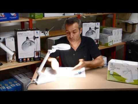 Test Et Presentation De Materiel Pour L Atelier Daylight Lampe