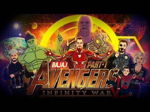 Avengers Infinity War Spoof - Part 1 || Shudh Desi Endings