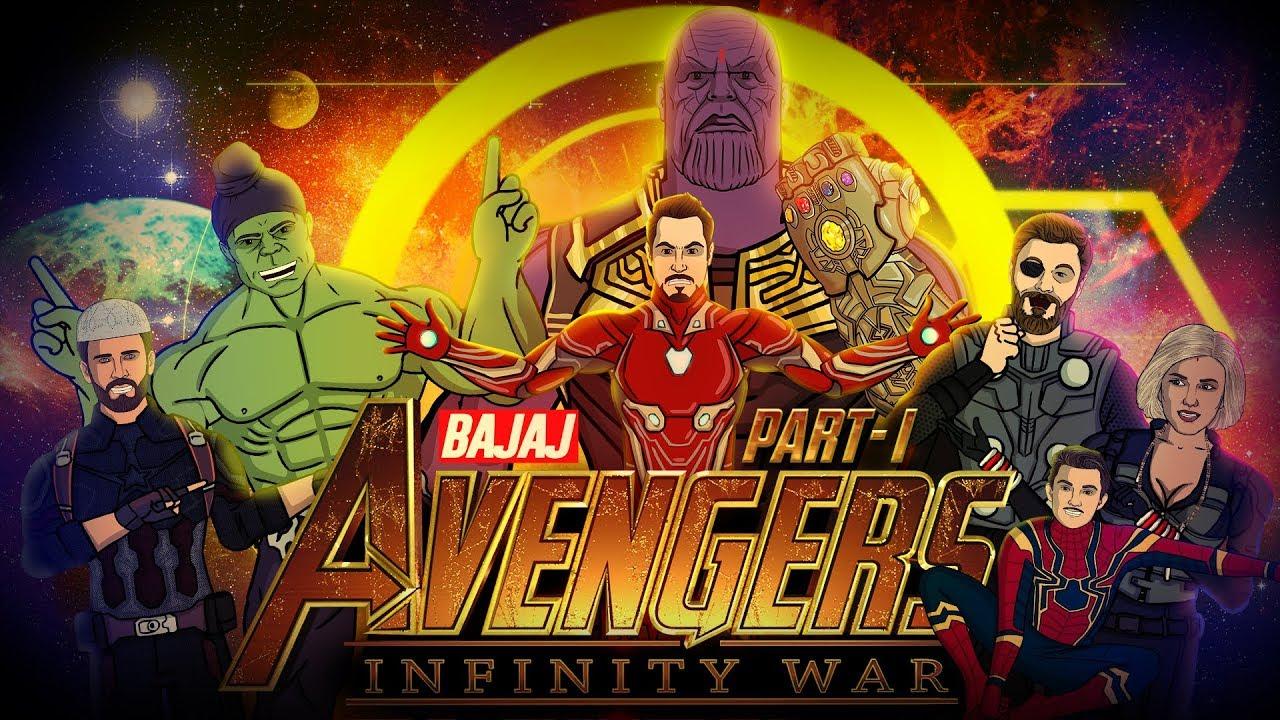 Avengers Infinity War Spoof - Part 1 || Shudh Desi Endings