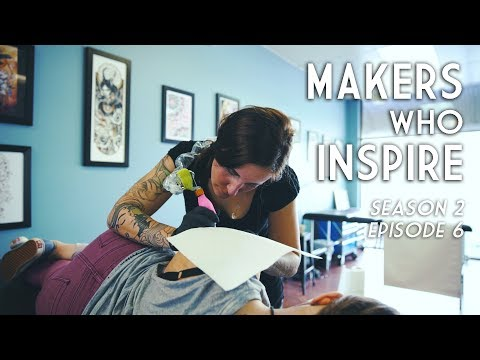 Emilie Desaunay - Tattoo Artist | MAKERS WHO INSPIRE