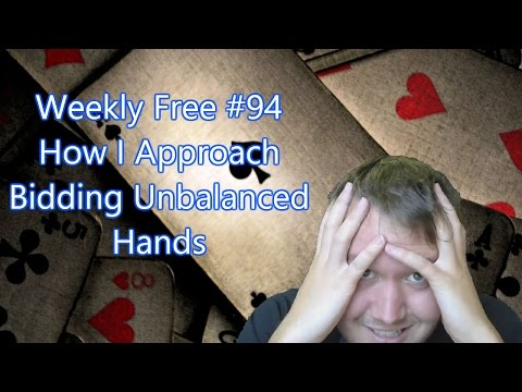 How I Approach Bidding Distributional Hands - Weekly Free #94