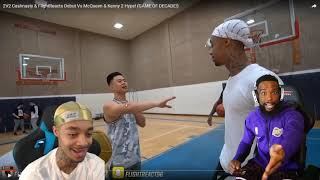 Reacting To FLIGHT KICKED THE BALL THRU THE ROOF AFTER WE GOT CHEATED!! 2vs2 BASKETBALL