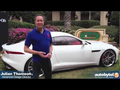 Jaguar C-X16 Walkaround Hybrid Sports Car Video Review with Advanced Design Director Julian Thomson