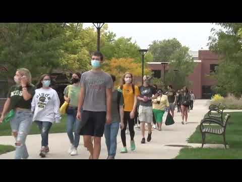 AFSP Suicide Awareness Walk hosted by NDSU