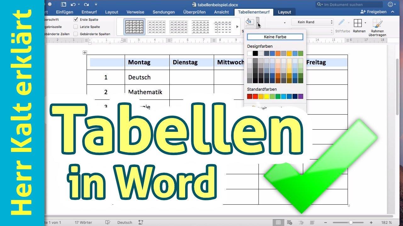 Wie macht man eine tabelle bei word bachelorarbeit uni mainz formalia