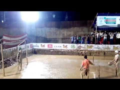 Mud Soccer 2014 @ Infopark - Penalty Shootout - OPTERNA vs UST GLOBAL
