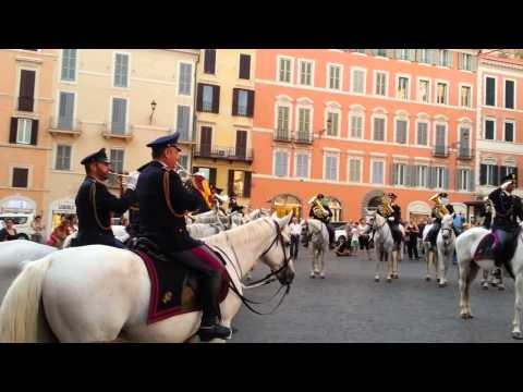 Italian Anthem (Fratelli d'Italia) - Mounted Band of the Italian Police (Polizia di Stato)