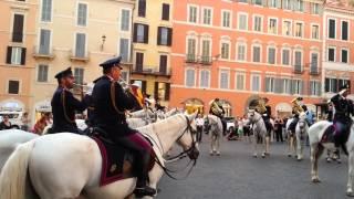 Italian Anthem (Fratelli d'Italia) - Mounted Band of the Italian Police (Polizia di Stato)
