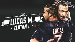 Lucas Moura & Zlatan Ibrahimović 2016 - Skills & Goals - HD