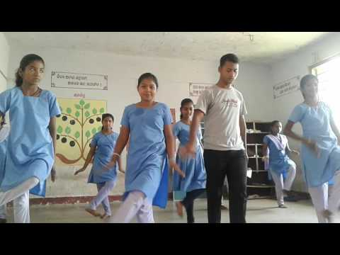 Cham cham dance by Gapur School ,Balitutha ,Jagatsinghpur ,Odisha (Me & my Students )