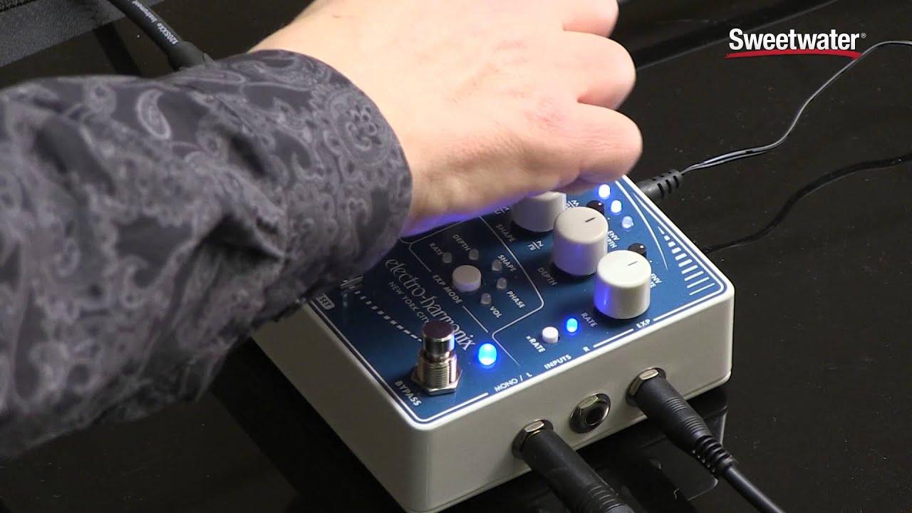 electro harmonix super pulsar stereo tap tremolo pedal youtube. Black Bedroom Furniture Sets. Home Design Ideas