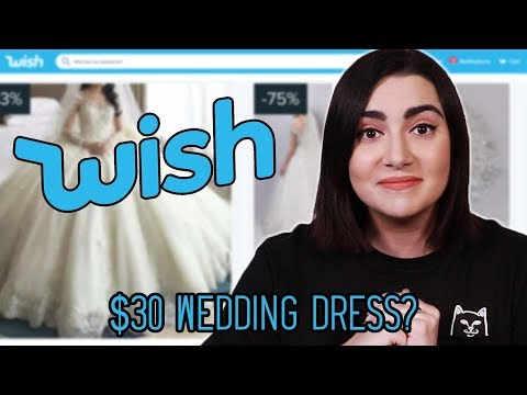 DJ Sama - I Tried Wedding Dresses From Wish