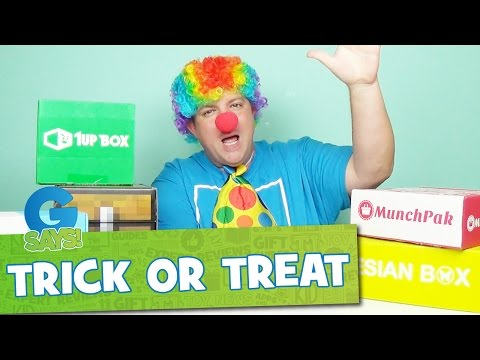 Subscription Boxes Trick or Treat - G Says