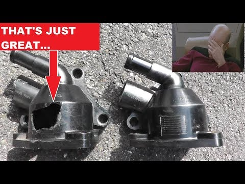 Thermostat Housing Replacement with Basic Hand Tools
