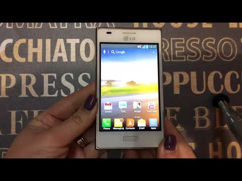 LG Optimus L5 (E612) Incoming Call+ Phone Review