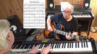 Tiptoe Thru The Tulips - Jazz guitar & piano cover ( Al Dubin )