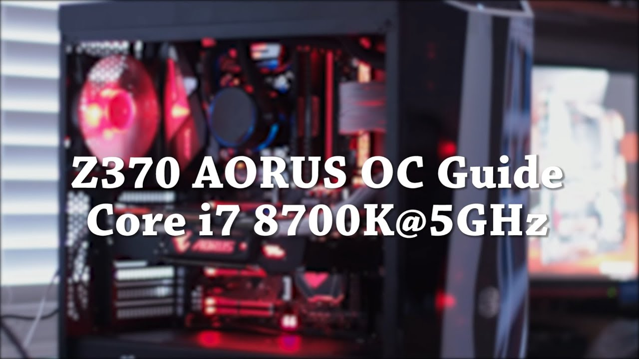 SUCCESS] Gigabyte AORUS Z370 Gaming 7 - i7-8700K - Nvidia