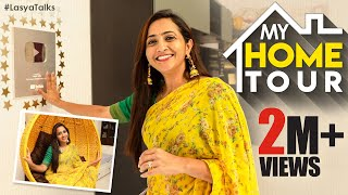 My Home Tour | Lasya Manjunath Beautiful Home Tour Vlog | Latest Videos | Lasya Talks