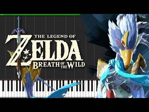 Revali's Theme - The Legend of Zelda: Breath of the Wild [Piano Tutorial] (Synthesia) // DS Music