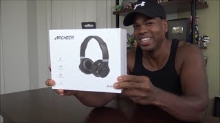 Archeer AH45  Wireless Headphones UNBOXING!!!