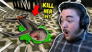 I Killed Granny's *NEW* PET…OOPS!!! | Granny Chapter 2 Gameplay (Update)