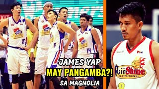 Gambar cover James Yap MAY PANGAMBA? sa Magnolia