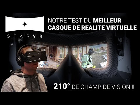 Test du StarVR One : le meilleur casque de réalité virtuelle actuel ? (#TekNiK)