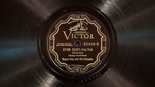 Star Dust • Wayne King and His Orchestra (Victrola Credenza)