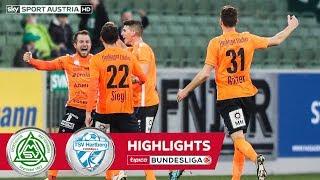 Highlights: tipico Bundesliga, 14. Runde: SV Mattersburg - TSV Hartberg 1:2