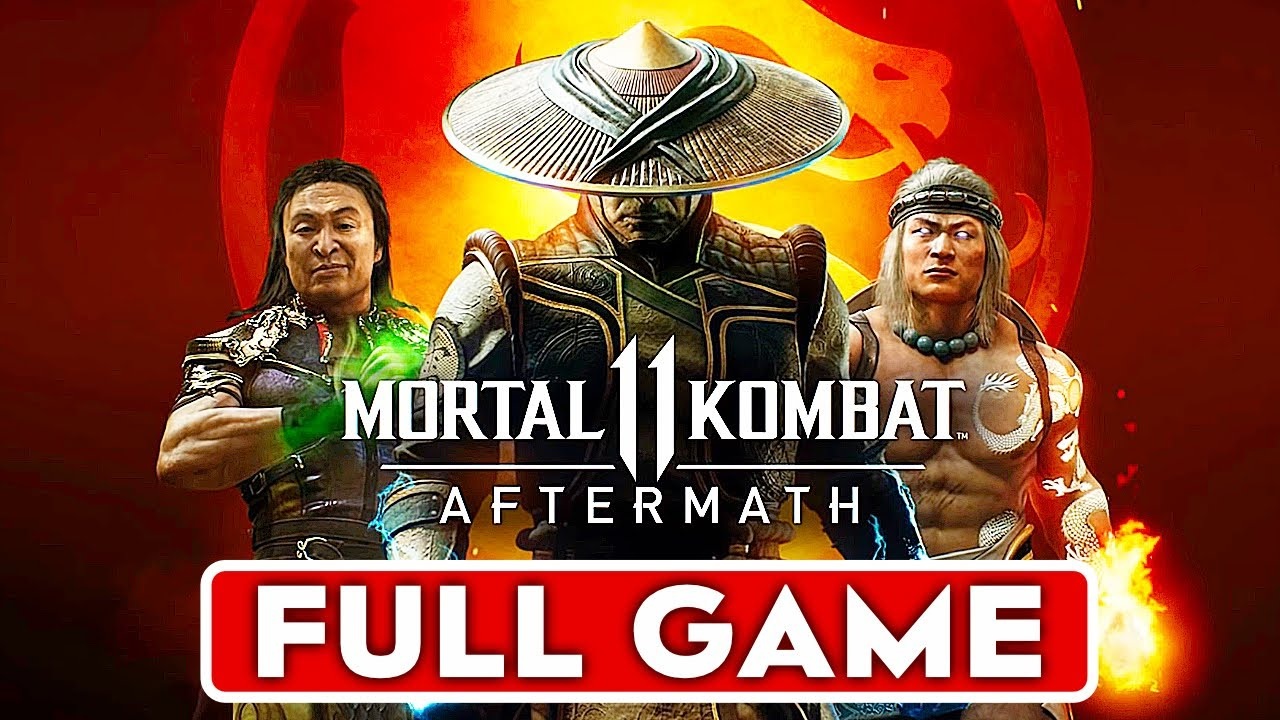 MORTAL KOMBAT 11 AFTERMATH Story Gameplay Walkthrough Part 1 MK11 Aftermath