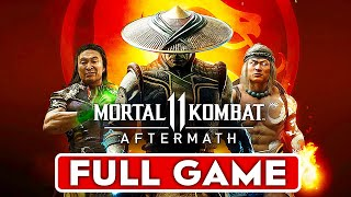 MORTAL KOMBAT 11 AFTERMATH Story Gameplay Walkthrough Part 1 MK11 Aftermath FULL GAME No Commentary