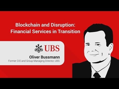Financial Services: FinTech, Blockchain, Disruption
