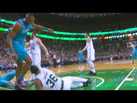 Dwight Howard Fights Marcus Smart | Boston Celtics vs Charlotte Hornets