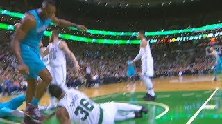 Dwight Howard Fights Marcus Smart | Boston Celtics vs Charlotte Hornets