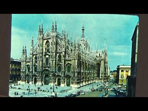 Milano Souvenir Picture Slide-Auction Find