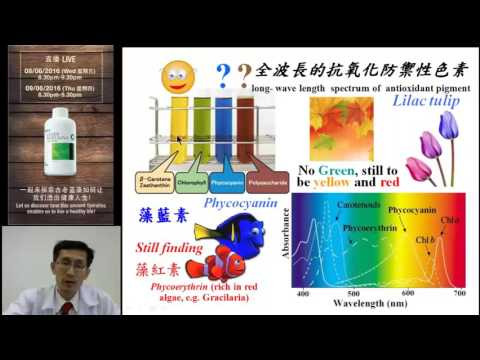 Unlock Your Health With Spirulina -  Prof Dr Richie Chen Part2