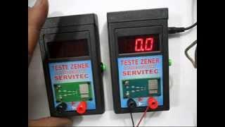 Teste Zener & Diode Schottky 100v