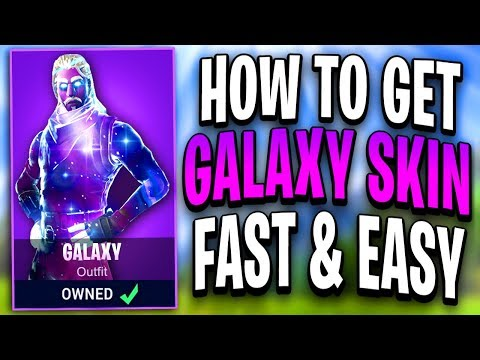 """How To Get The """"GALAXY SKIN"""" IN FORTNITE! *EASY* NEW Fortnite Galaxy Skin! (Galaxy Skin Fortnite)"""