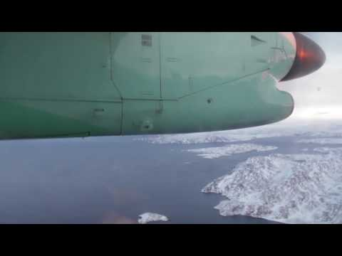 Widerøe WF0953 Dash 8 -100 Vadsø - Kirkenes Airport Take off & Landing [HD]
