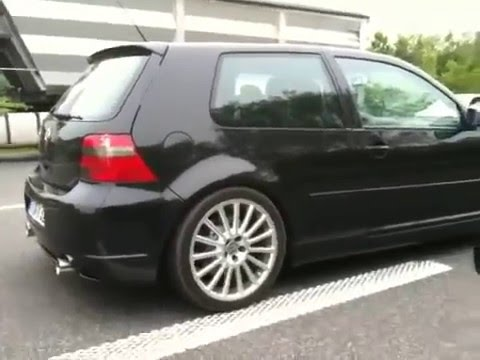 vw golf 4 r32 hgp biturbo launch control youtube. Black Bedroom Furniture Sets. Home Design Ideas