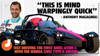 homepage tile video photo for Test Driving The First Ariel Atom 4 With The Honda Civic Type R Engine