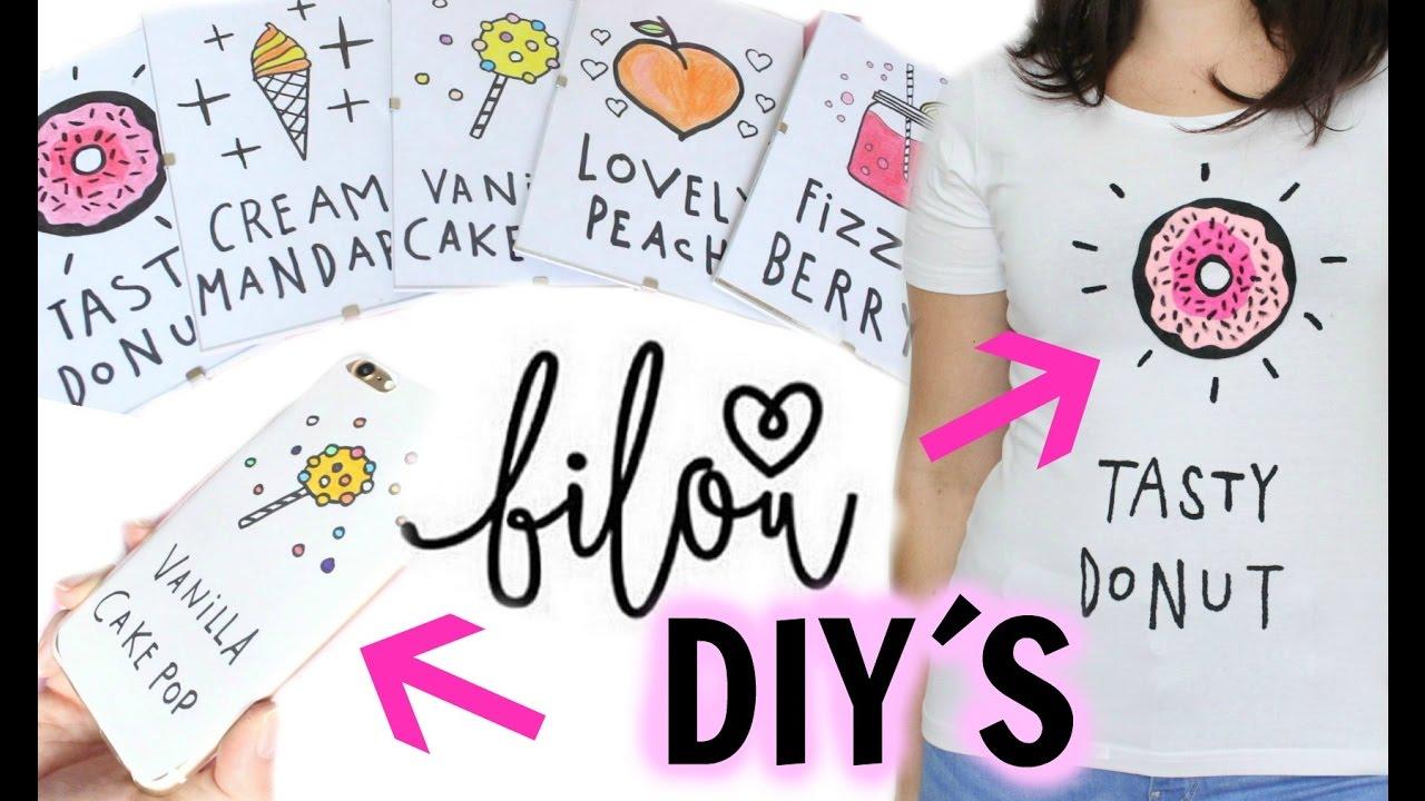 4 Bilou Diys T Shirt Handycase Youtube